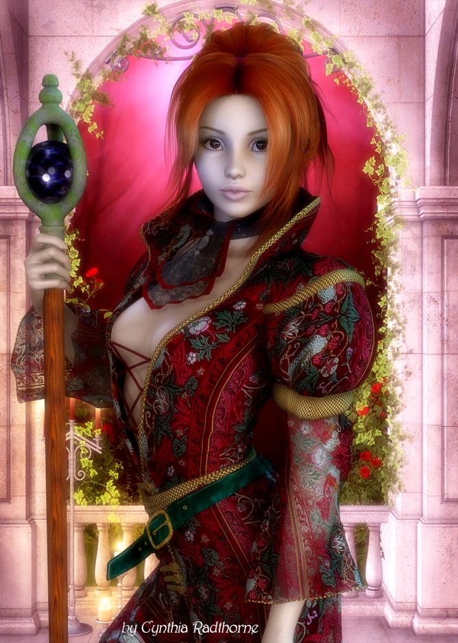 Truth >> Cynthia Radthorne Artwork-Fantasy
